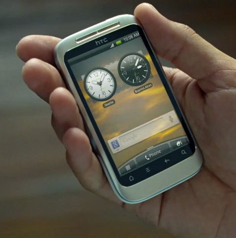 HTC Wildfire 2 in YouTube Video zu sehen?