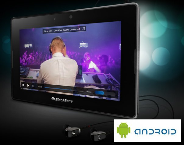 BlackBerry PlayBook: Also doch Android Apps auf dem (RIM) Tablet PC