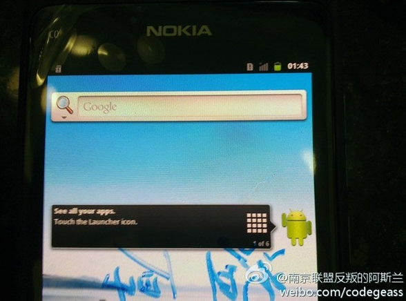 Nokia N9: Bald mit Android 2.3 Gingerbread?