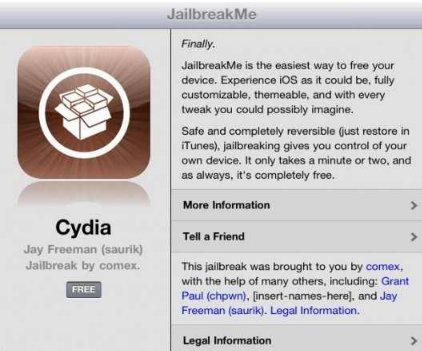 Untethered Jailbreak für iPad 2, iPhone 4, iPod touch 4g, etc [How to – Video Anleitung]
