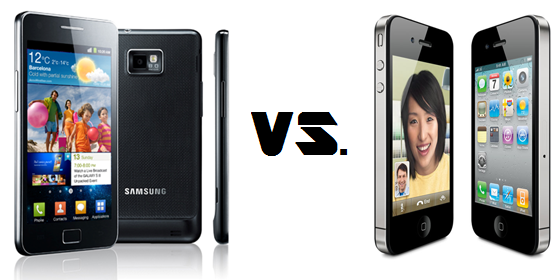 bestes smartphone 2011 samsung galaxy s2 vs apple iphone. Black Bedroom Furniture Sets. Home Design Ideas