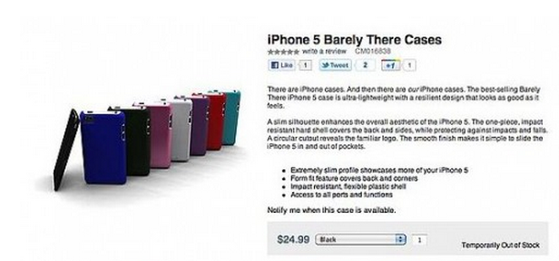 iphone 5 case-mate page