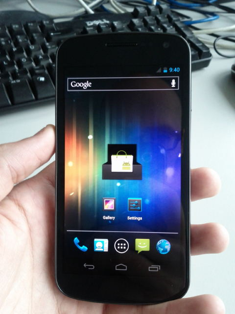Hands-On Samsung Nexus Prime mit Android 4.0 in Aktion [Video]