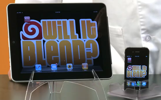 iPhone 4S vs. Mixer: Will it Blend? [Video]