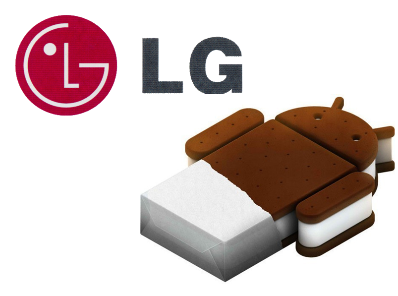 LG Optimus Update auf Android 4.0 ICS