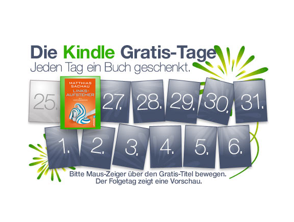 Amazon Kindle eBook Aktion - auch iPad und iPhone