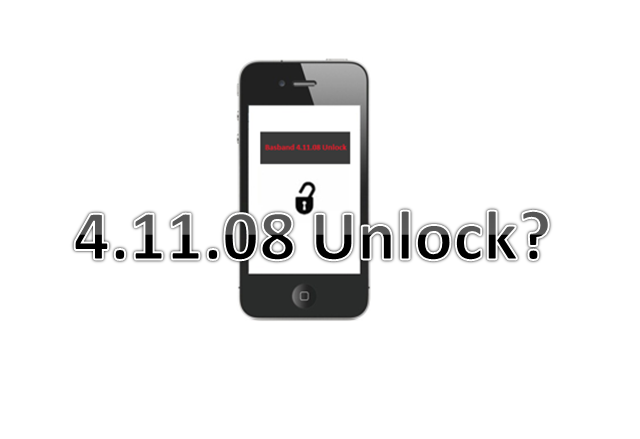 Unlock 4.11.08 iPhone 4