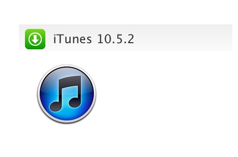 iTunes 10.5.2 Download