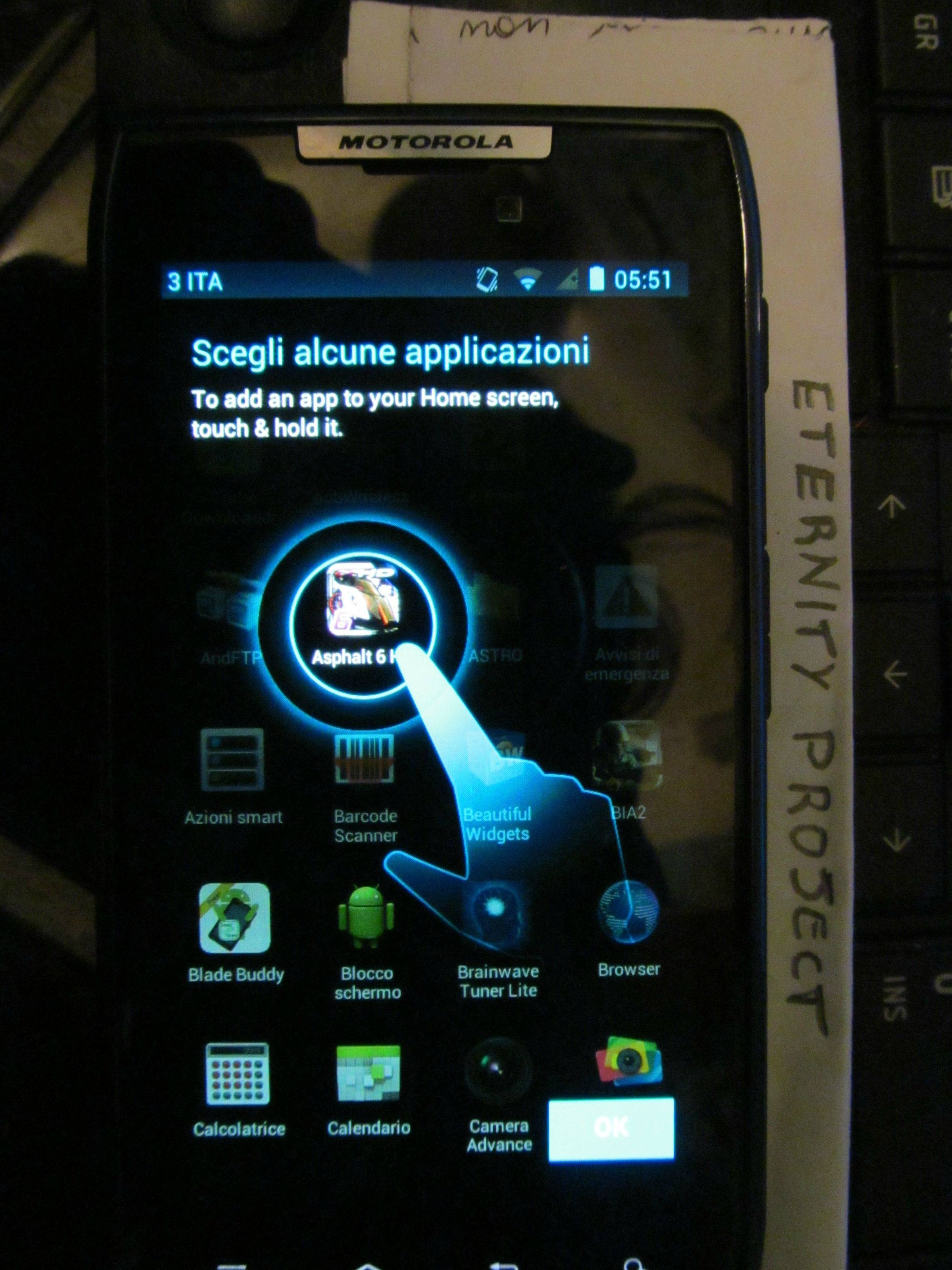 Download: Erste Motorola RAZR Ice Cream Sandwich ROM aufgetaucht (Screenshots)