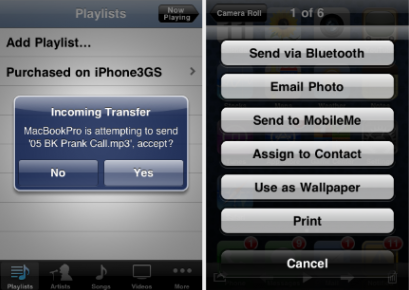 Celeste: Bluetooth Cydia-Tweak bekommt Update & Anpassung für iOS 5.0.1 (Download bald)