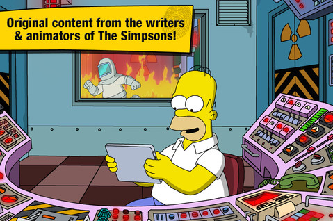 The Simpsons Tapped Out Screen1