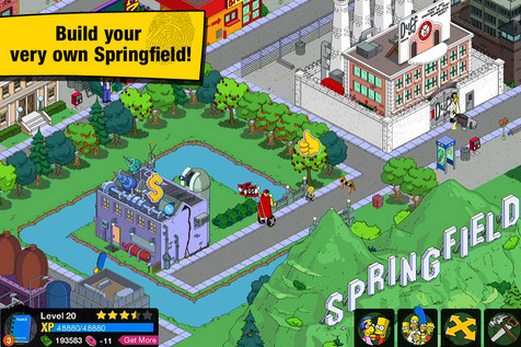 The Simpsons Tapped Out Screen2