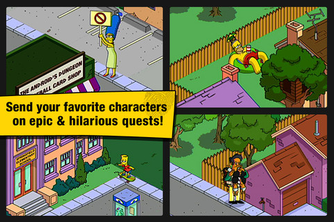 The Simpsons Tapped Out Screen5