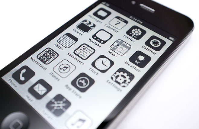 iOS im Retro-Look Screen2 - Anton Repponen