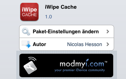 iWipe Cache: Cydia Tweak behebt Problem nach dem iPhone 4S & iPad 2 Jailbreak (Download)
