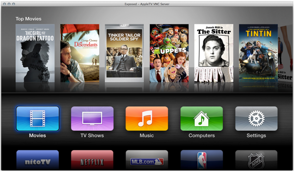 Apple TV 3 - Neues User-Interface
