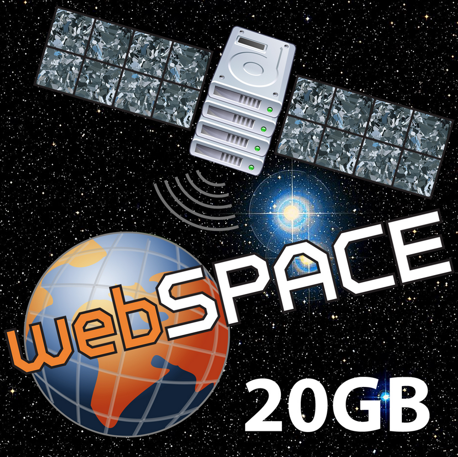 webSpace 20 GB