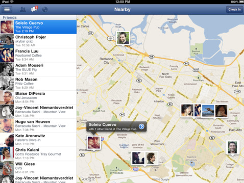 Facebook App mit neuen Features und Retina-Display Optimierung (Download)