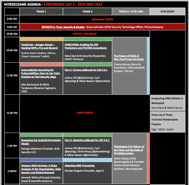 HITB2012AMS Agenda - Conference Day 2 _2