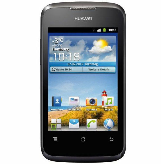 Huawei Ascent Y200 - Screen1