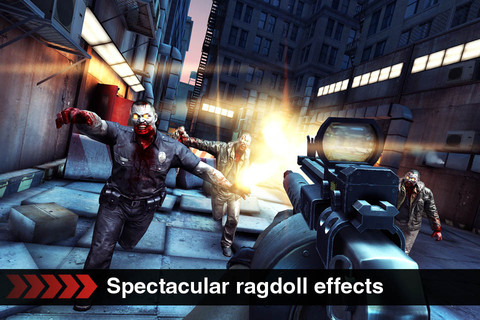 deadtrigger1 Sommer, Sonne, Zombies: Dead Trigger für iPhone & iPad!