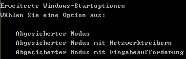Windows im abgesicherten Modus starten