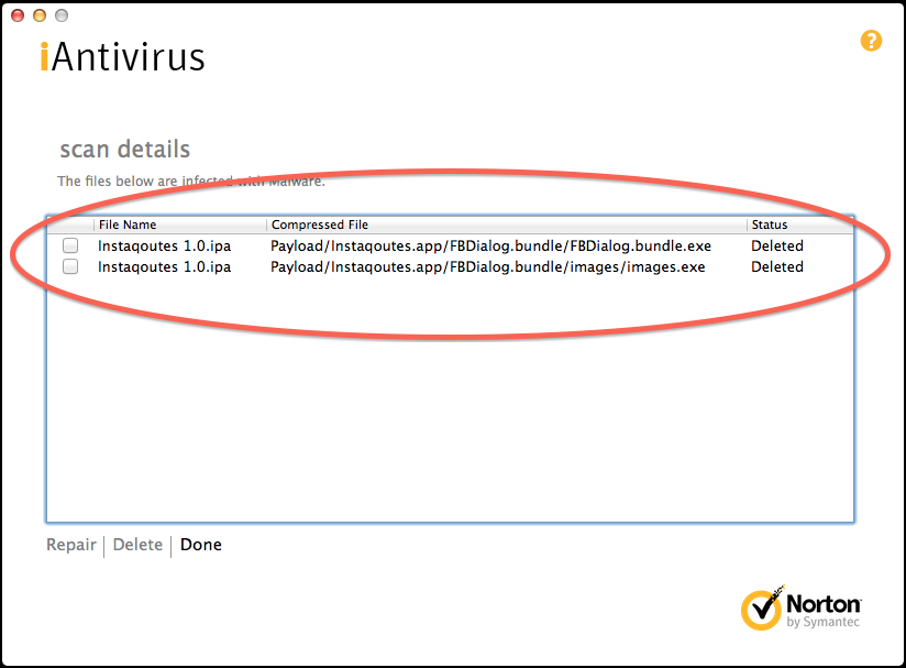 iAntivirus - Windows-Malware in iOS-App_Instaqoutes_23