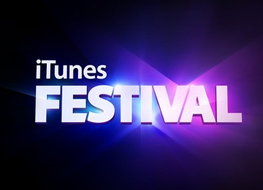 iTunes Festival 2012 mit Live-Streams via Web, iOS und Apple TV