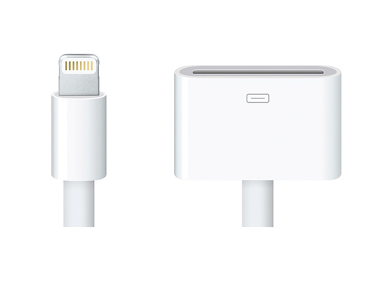 Lightning auf 30 Pin Adapter ohne Video out?
