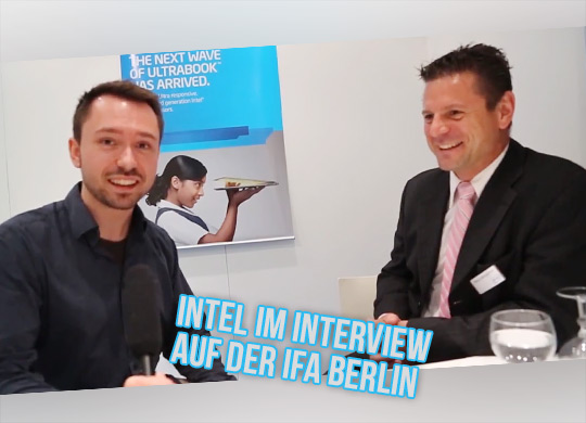 Interview mit Intel: EMEA Marketing Manager – Markus Weingartner (IFA 2012)