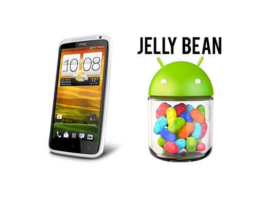 htc one x jelly bean HTC One X: Android 4.1 Jelly Bean Auslieferung in Asien angelaufen
