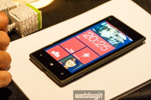 htc8x front windows phone 8 wbi 300x199 Windows Phone 8X by HTC   Firstlook & Hands On beim Münchener Event