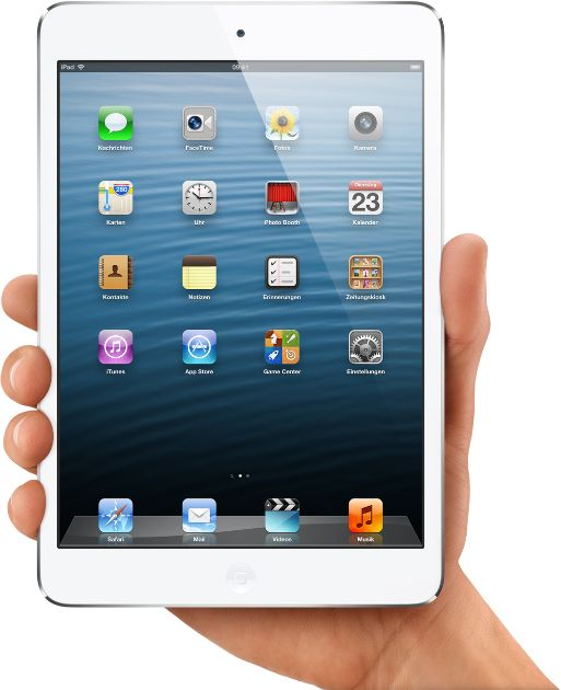iPad mini hands