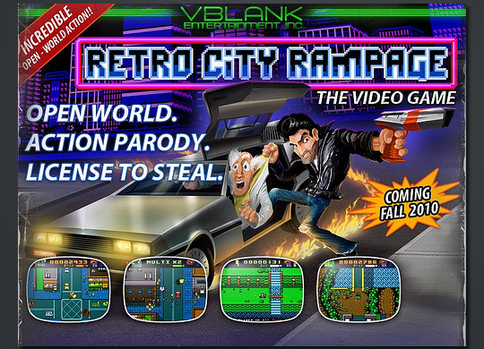 Retro City Rampage im Video-Firstlook: 80er und 90er Pixelgemetzel á la GTA