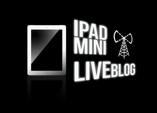 Live Stream & Live Ticker zum Apple iPad Mini Event: 23. Oktober