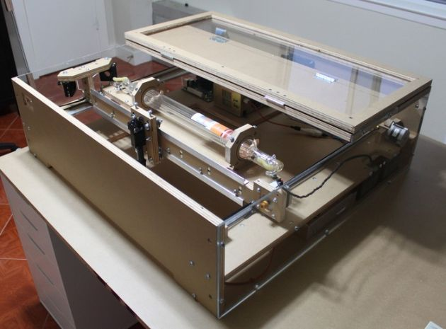 Build Your Own Laser Cutter
