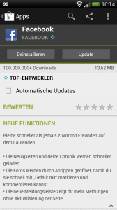 facebook-update-android