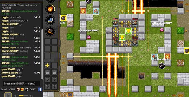 Bomberman im Browser: 1000-Spieler-Supergau