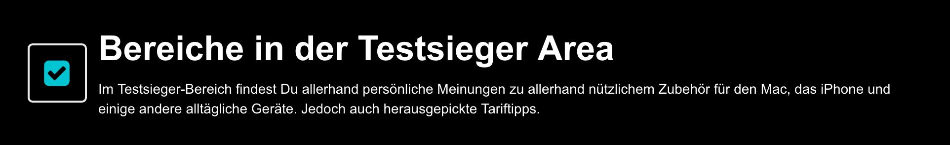 Apple Zubehör Testsieger