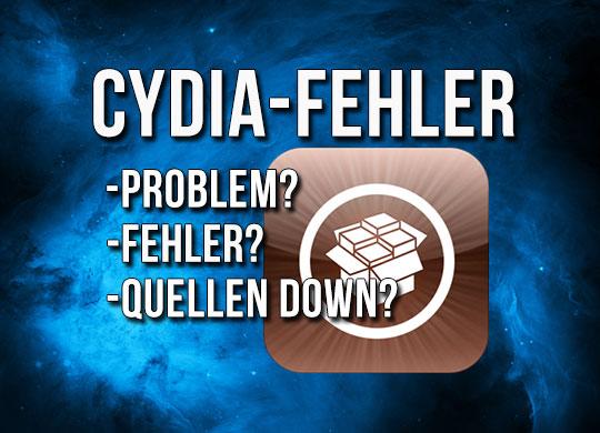 Cydia überlastet, evasi0n Fehler / Error & Quellen nicht erreichbar