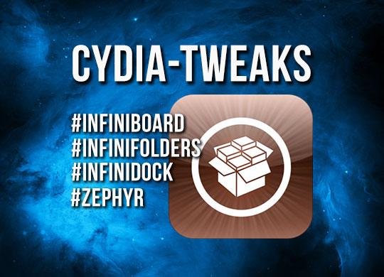 Cydia Tweaks für iOS 6.1: Zephyr, Infiniboard, Infinidock und Infinifolders