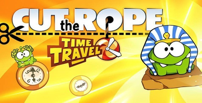 Cut the Rope: Time Travel für iOS und Android erschienen