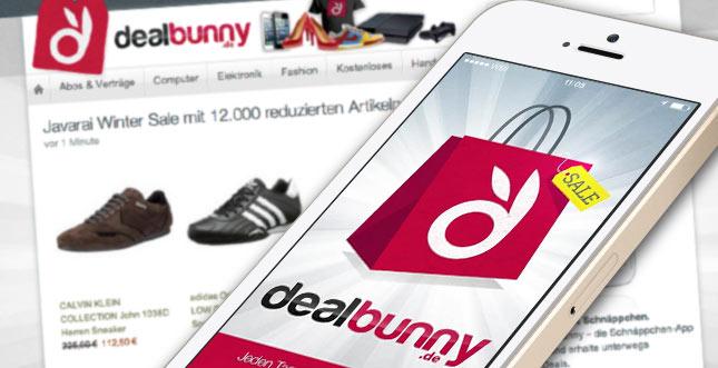 Dealbunny: Must-Have-App für jeden Sparfuchs