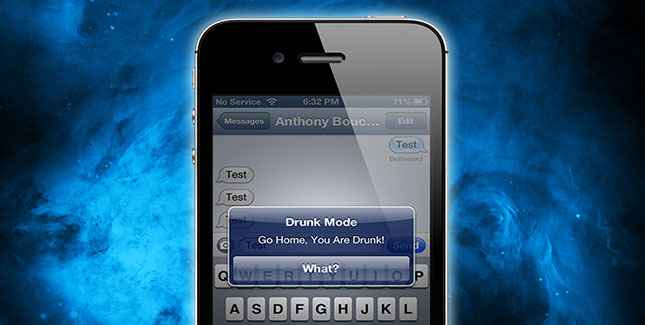 Drunk-Mode: Cydia Tweak warnt davor betrunken zu sein