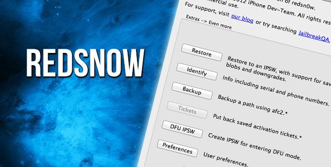 Downgrade von iOS 6.1.3 auf iOS 6.1.2 mit Redsn0w (Anleitung)