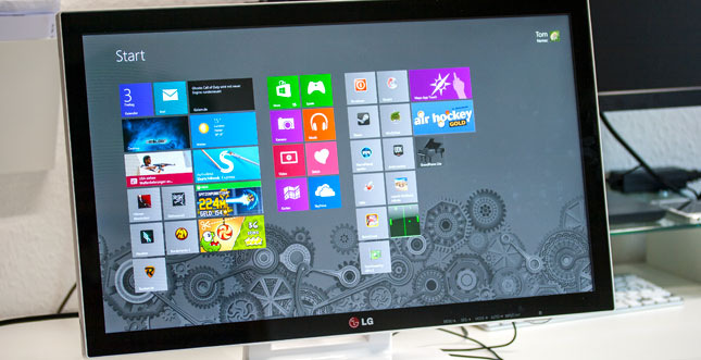 "LG 23ET83V-W im Test: 23"" Touchscreen mit LED-IPS Panel"