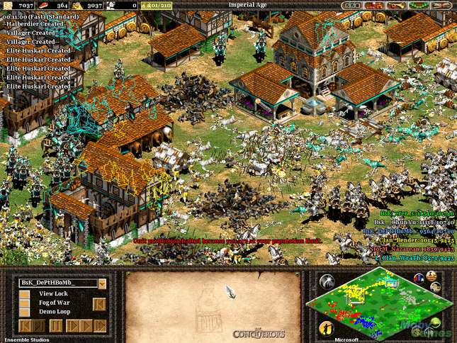 Скриншоты Age of Empires 2: The Age of Kings.