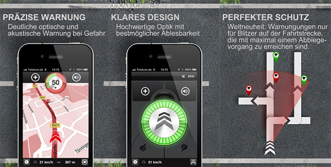 blitzer apps im test sind die eigentlich illegal weblogit. Black Bedroom Furniture Sets. Home Design Ideas