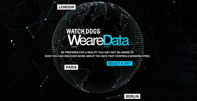 WeareData: Webprojekt visualisiert unsere Daten (Watch_Dogs)