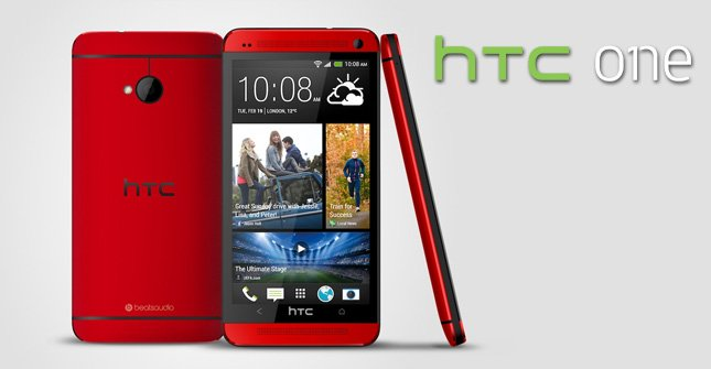 "HTC One in ""Glamour Red"" kommt Mitte Juli"